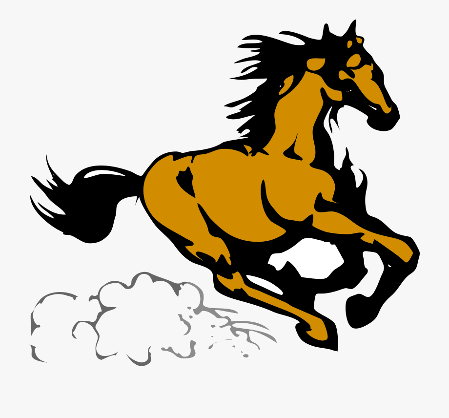 Running horse clipart vector library download Running Horse Clipart Running Horse 4 Clip Art At Clker - Horse Clip ... vector library download