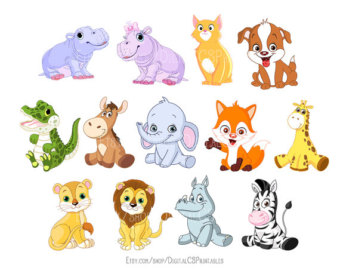 Animals cute clipart clip free stock 86+ Cute Clipart Animals | ClipartLook clip free stock