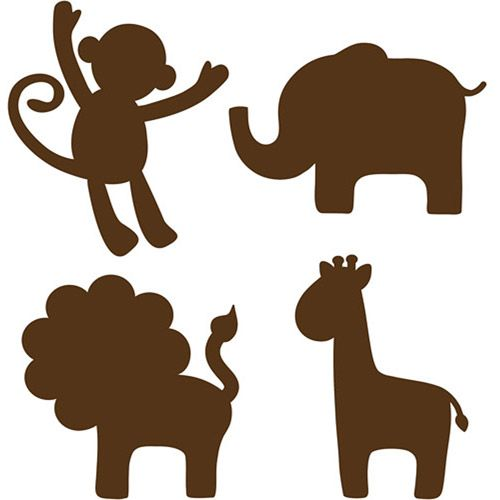 Animals cute clipart for printables graphic royalty free download 17 Best ideas about Animal Silhouette on Pinterest | Fox ... graphic royalty free download