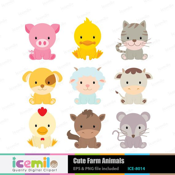 best images about. Animals cute clipart for printables