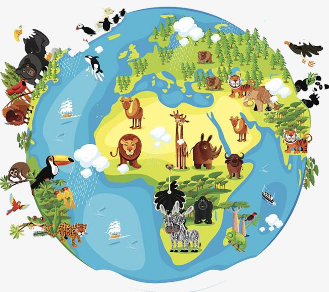Animals earth clipart picture library library Tropical Rainforest On Earth PNG, Clipart, Animal, Animals ... picture library library