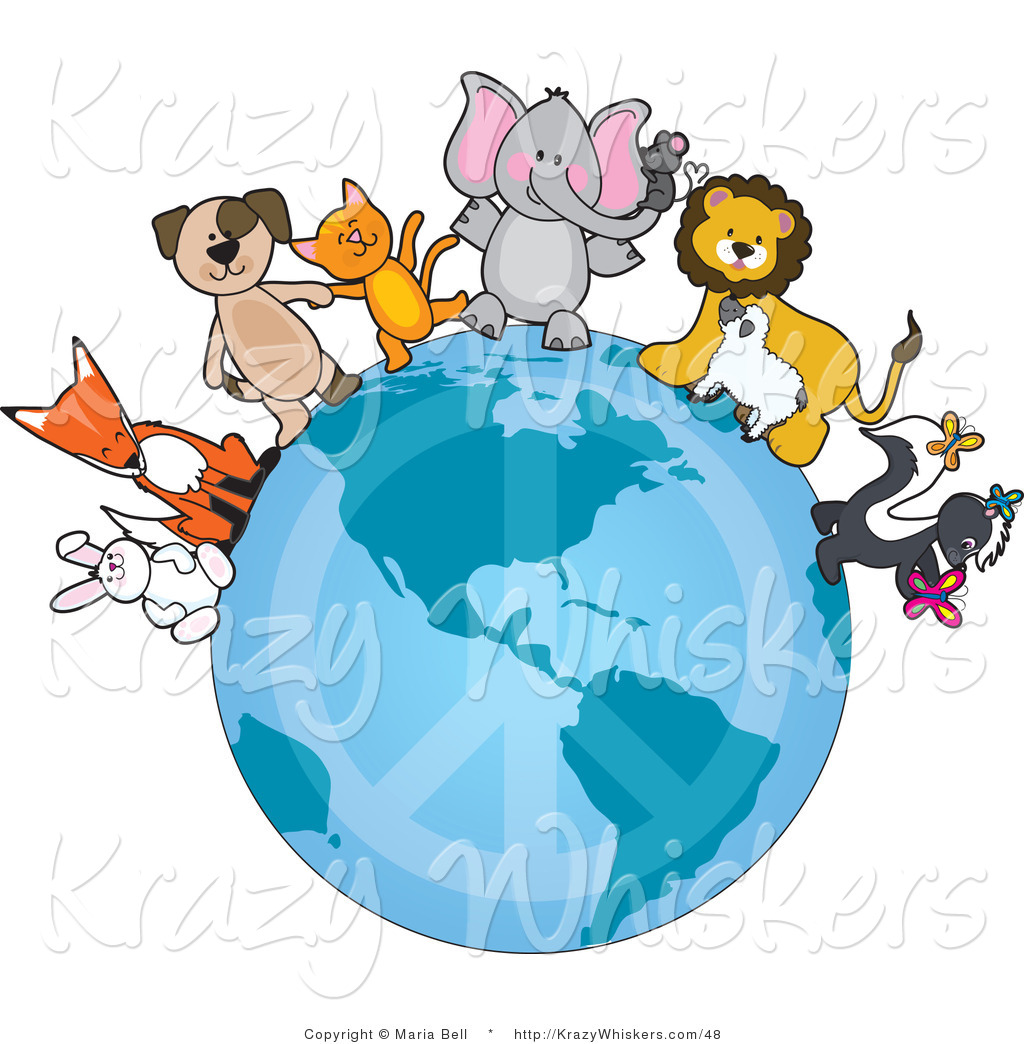 Animals earth clipart