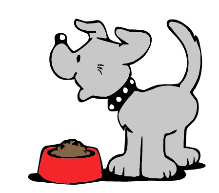 Animals eating clipart image library Dealing with Food Aggression – Verona Street Animal Society image library