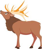 Animals elk clipart jpg Free Deer Clipart - Clip Art Pictures - Graphics - Illustrations jpg