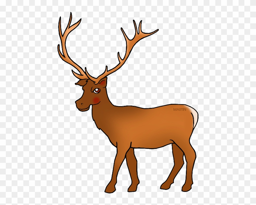 Animals elk clipart png royalty free library Elk Free United States Clip Art By Phillip Martin Utah - Utah State ... png royalty free library