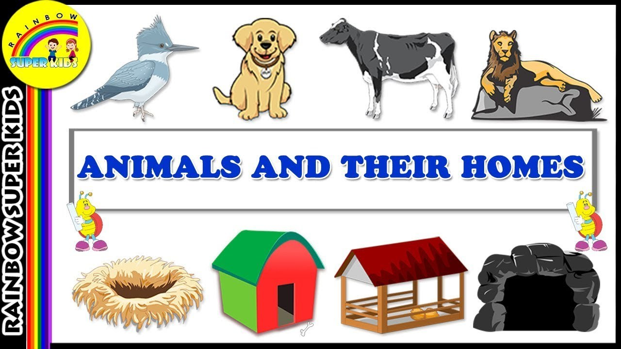 Animals homes clipart clip art free stock Animals and their homes clipart 5 » Clipart Portal clip art free stock