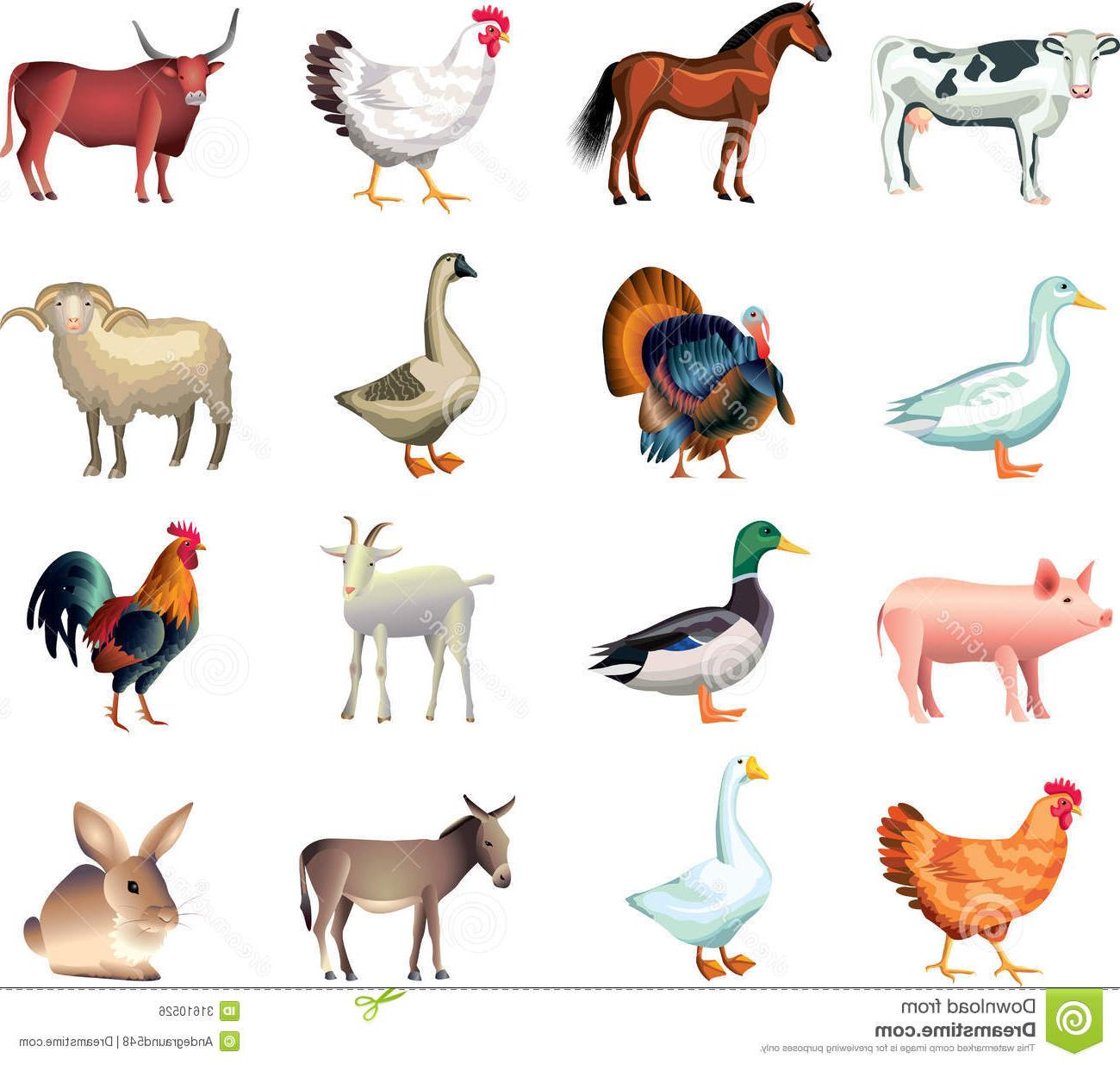 Animals in the barn clipart free Top Baby Barn Animals Clip Art Images » Free Vector Art, Images ... free