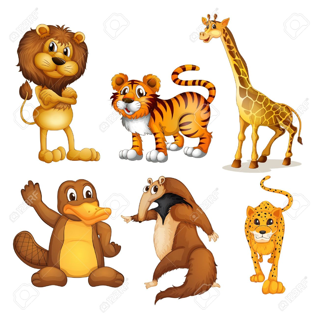 Animals on land clipart clip royalty free library Animals that live on land clipart 5 » Clipart Station clip royalty free library