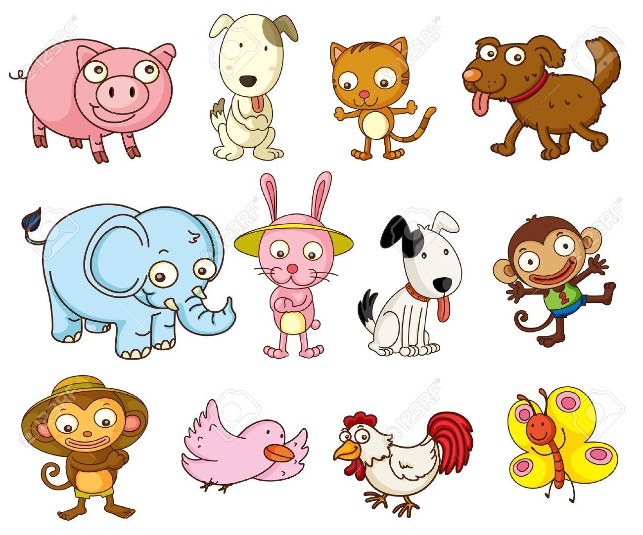 Animals on land clipart clip royalty free stock Land animals clipart 7 » Clipart Portal clip royalty free stock