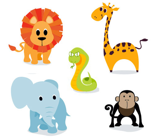Animals on land clipart freeuse stock Land animals clipart 7 » Clipart Station freeuse stock