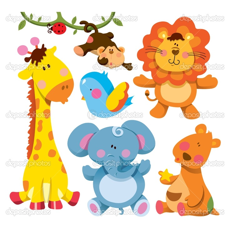 Animals playing clipart pinterest jpg freeuse download Cartoon Pictures Baby Animals Group with 35+ items jpg freeuse download