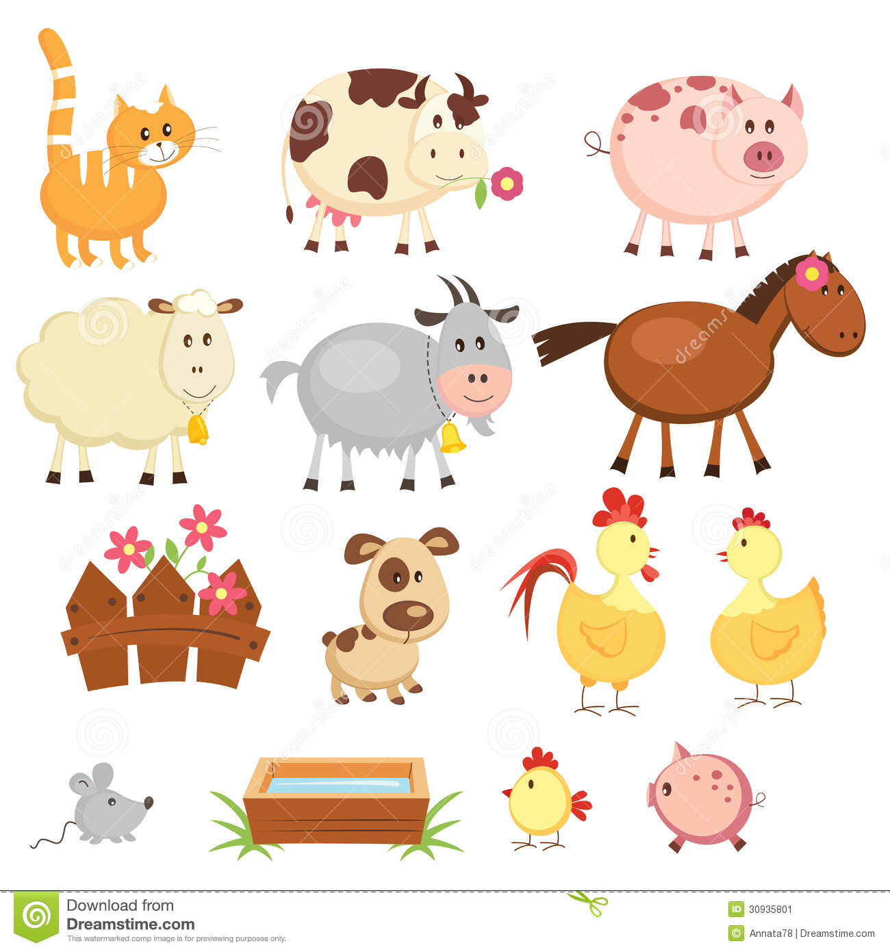 Animals playing clipart pinterest clipart free 84+ Farm Animal Clipart | ClipartLook clipart free