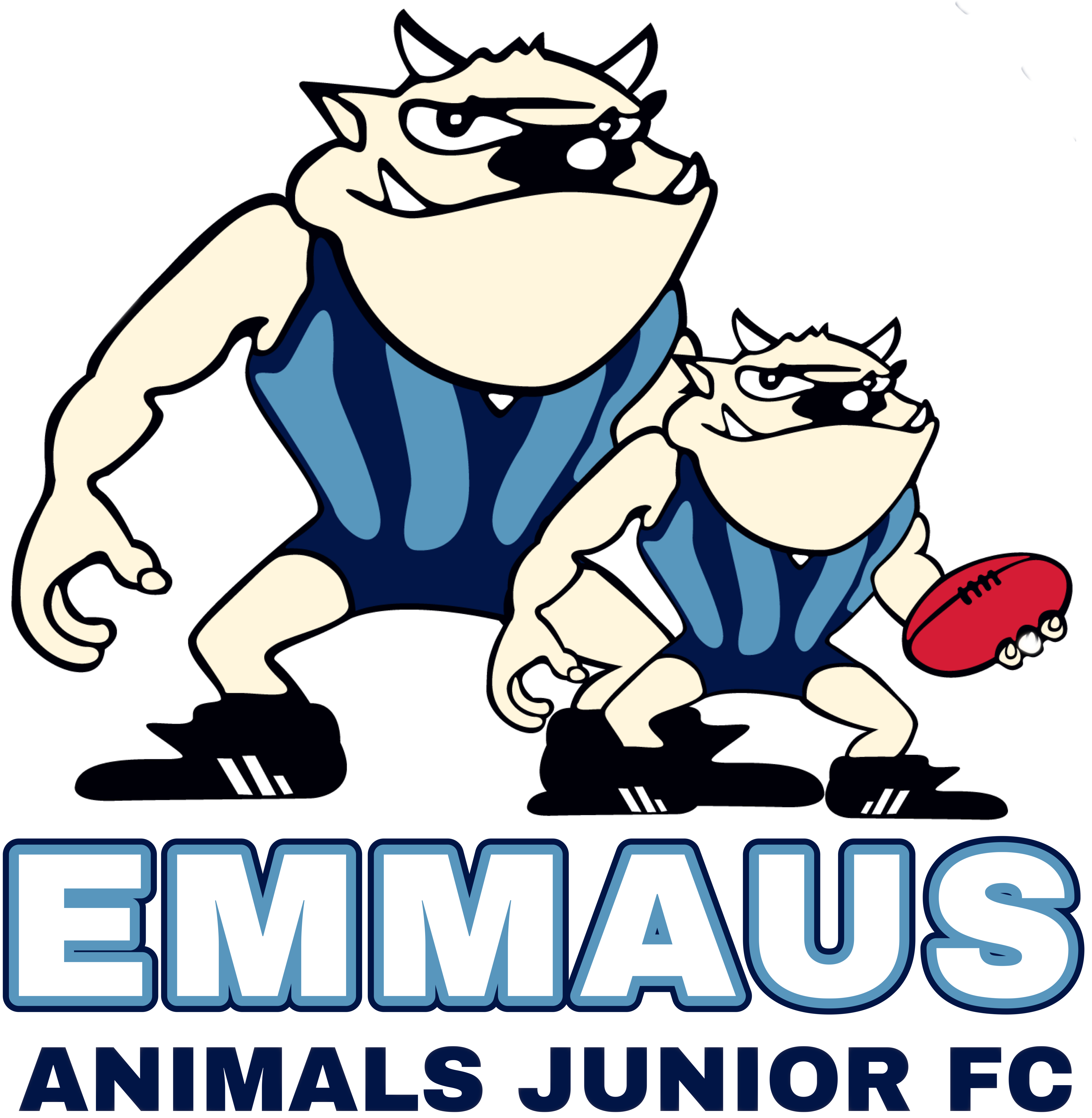 Animals playing football clipart clipart free stock Saturday Footy League - Emmaus Animals clipart free stock