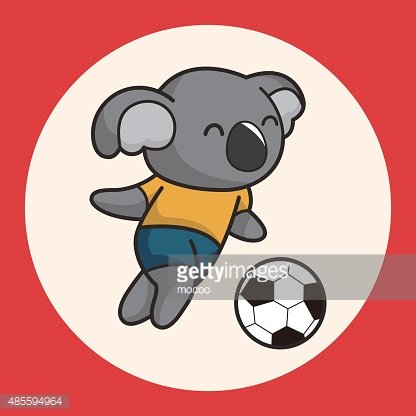 Animals playing soccer clipart banner free stock Animals Play Football Cartoon Theme Elements premium clipart ... banner free stock