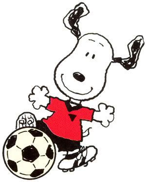 Animals playing soccer clipart image royalty free download Soccer snoopy clip art cartoon clipart snoopy clipart snoopy - Clipartix image royalty free download
