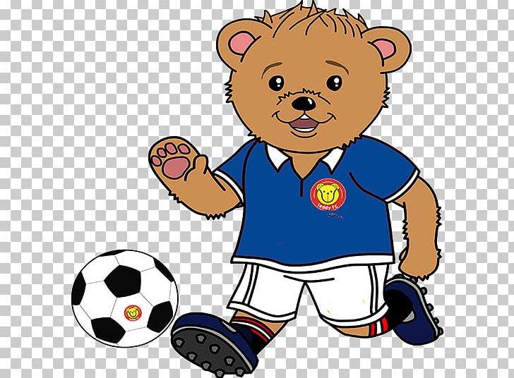 Animals playing soccer clipart svg library library Harmony Bear Teddy Bear Football PNG, Clipart, Animals, Area ... svg library library