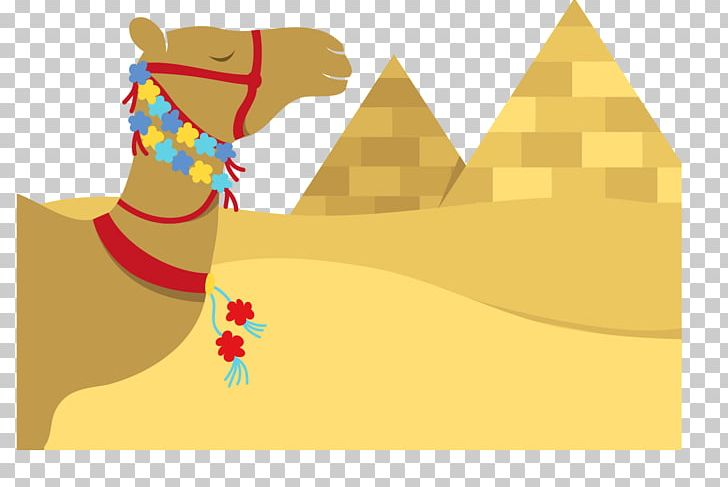Animals pyramid clipart banner transparent stock Egyptian Pyramids Camel Illustration PNG, Clipart, Animals, Camel ... banner transparent stock