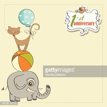 Animals pyramid clipart picture transparent First Anniversary Card With Pyramid of Animals premium clipart ... picture transparent