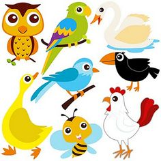 Animals that fly clipart vector library stock Animals that fly clipart » Clipart Station vector library stock
