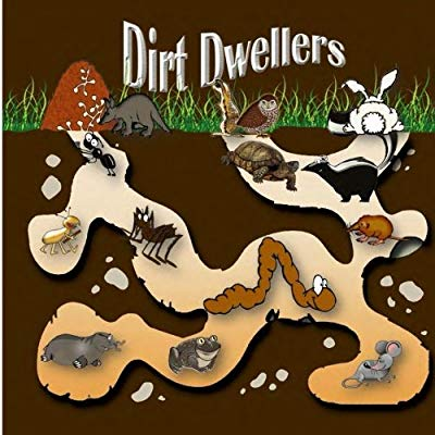 Animals that live underground clipart vector transparent Dirt Dwellers: Animals that live underground: Jodine Hubbard ... vector transparent