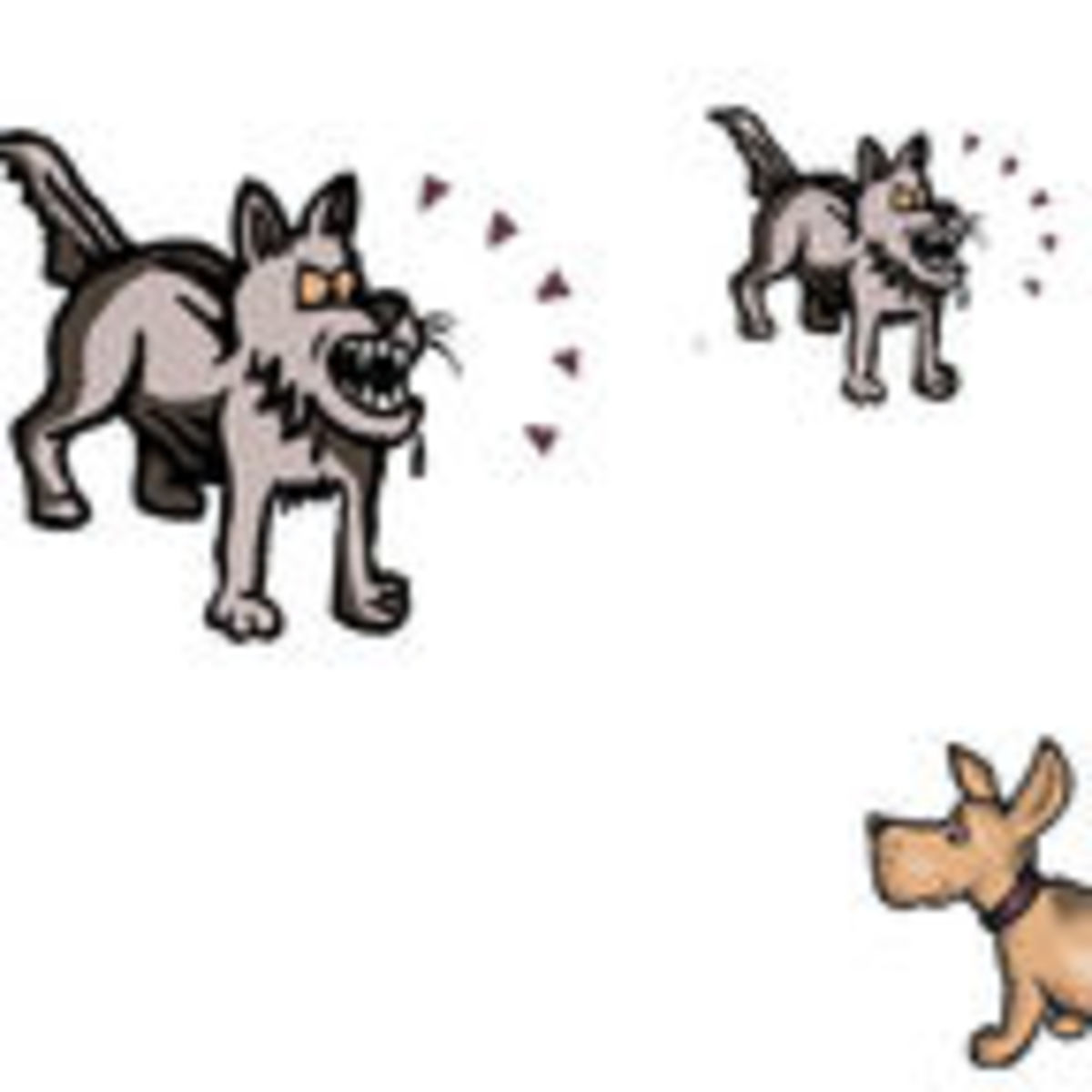 Animals that make high pitched sounds clipart picture freeuse stock You Growl Like A Big Dog: Dogs Estimate Size From Sound   Psychology ... picture freeuse stock