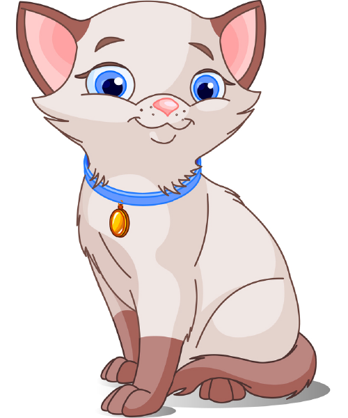 Animals with collar clipart picture transparent stock Blue Collar Kitty | Animal Icons | Cat clipart, Siamese cats, Cat ... picture transparent stock