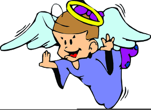 Animated angels clipart vector royalty free Animated Clipart Of Angels   Free Images at Clker.com - vector clip ... vector royalty free