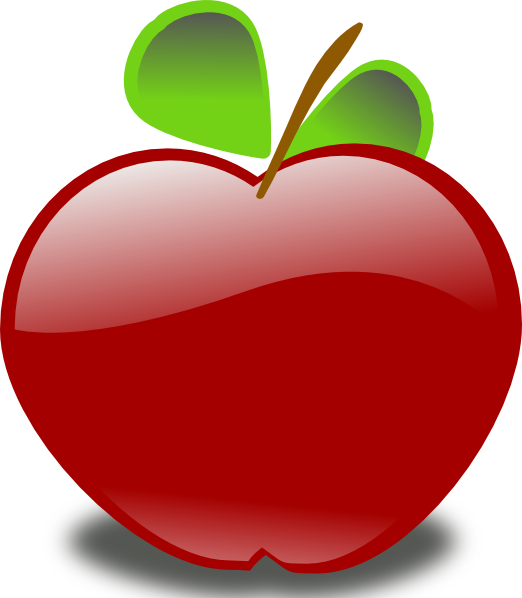 Taffy apple clipart graphic black and white stock Free Animated Apple, Download Free Clip Art, Free Clip Art on ... graphic black and white stock