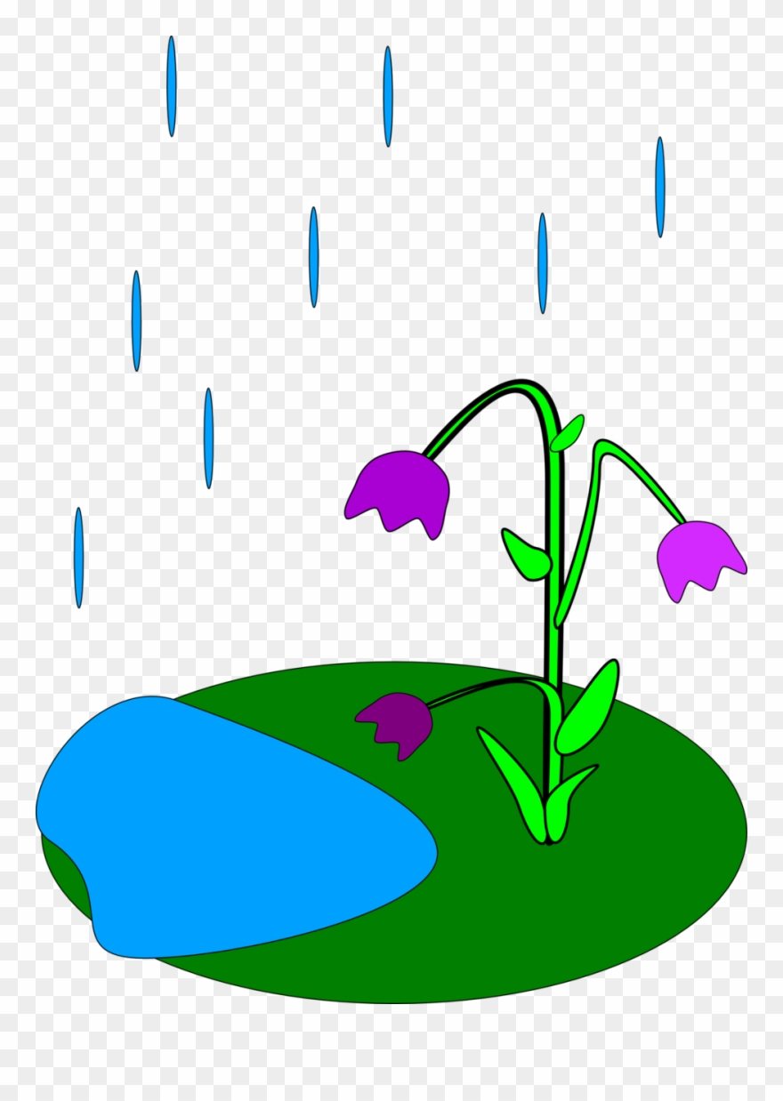Animated april showers clipart vector free stock April Showers Bring May Flowers Clip Art - Rainy Flowers Clipart ... vector free stock