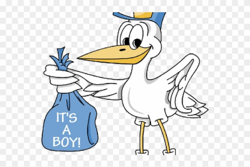 Animated baby boy clipart graphic free Baby Boy Cartoon Images - Stork Its A Boy, HD Png Download - 640x480 ... graphic free