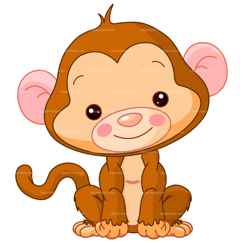 Baby monkey and mom clipart image download Monkey Picture Cartoon | Free download best Monkey Picture Cartoon ... image download