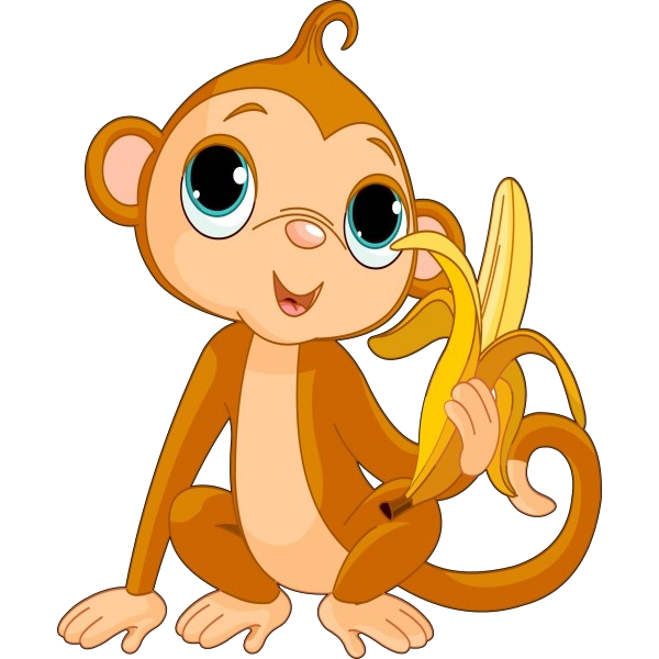 Animated baby monkey clipart clipart freeuse download Cute Funny Cartoon Baby Monkey Clip Art Images. All Monkey Cartoon ... clipart freeuse download