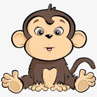 Animated baby monkey clipart image transparent stock Animated Baby Cartoon Monkeys Pinterest History Ⓒ - Funny Cartoon ... image transparent stock