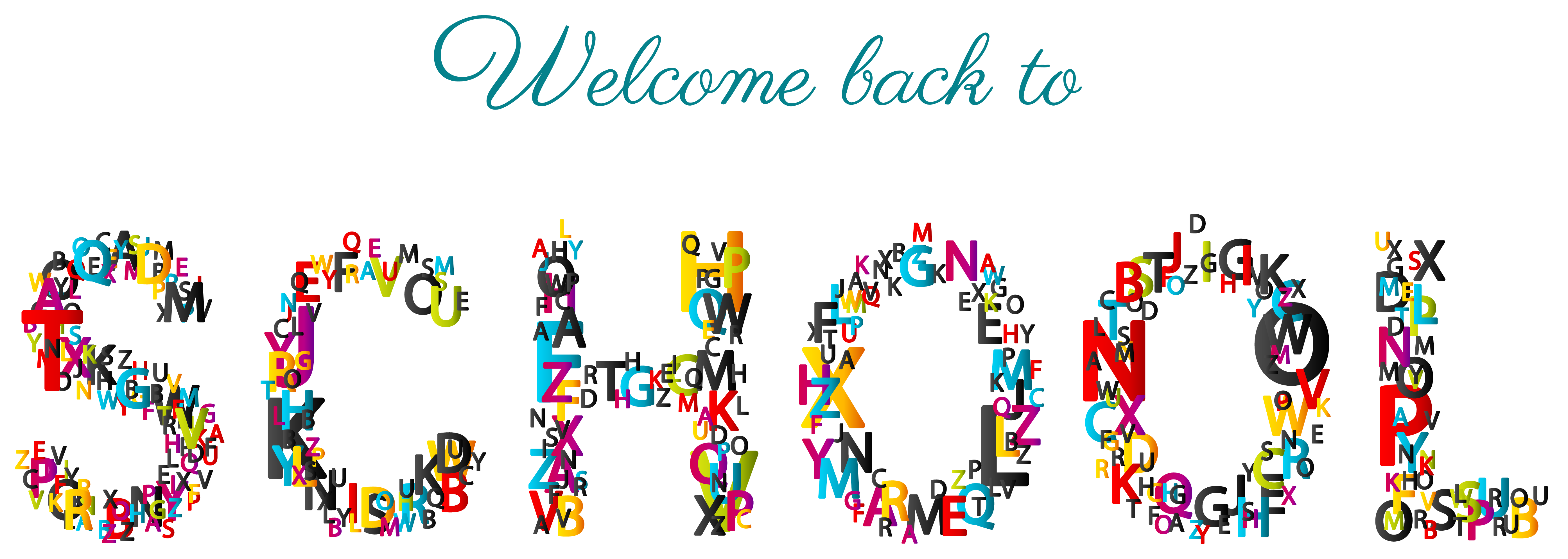 Back 2 school clipart clip art transparent download 28+ Collection of Welcome Back Clipart School | High quality, free ... clip art transparent download