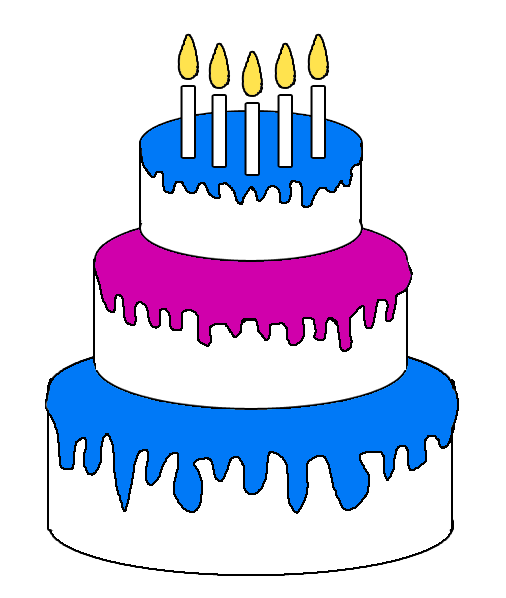 Animated birthday cake clipart banner transparent stock Happy Birthday Cake Clipart & Happy Birthday Cake Clip Art Images ... banner transparent stock