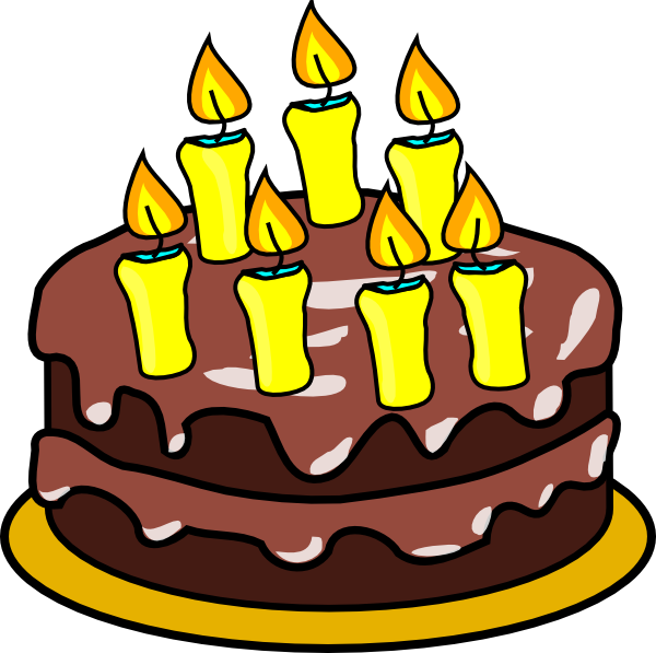 At getdrawings com free. Clipart of birthday cake