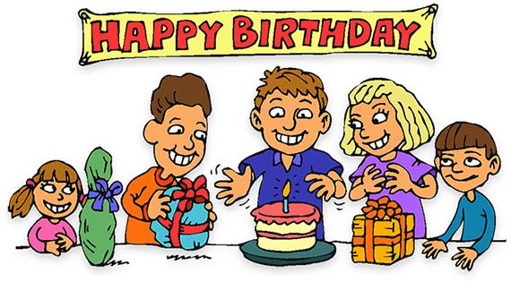 Animated birthday clipart free. Animations party children