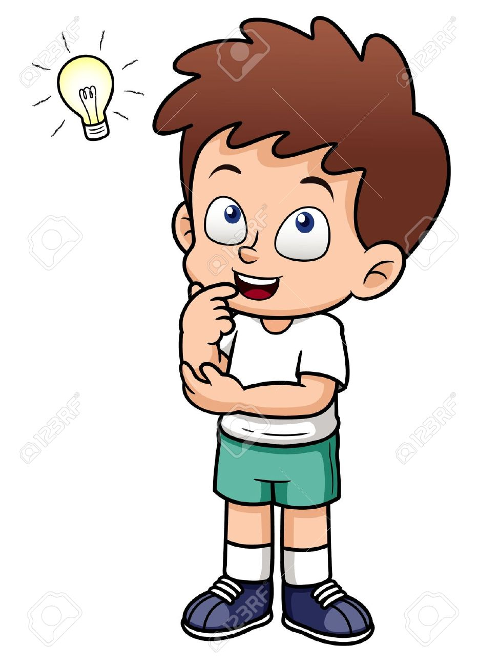 Best Child Thinking Clipart #14285 - Clipartion.com clip transparent download