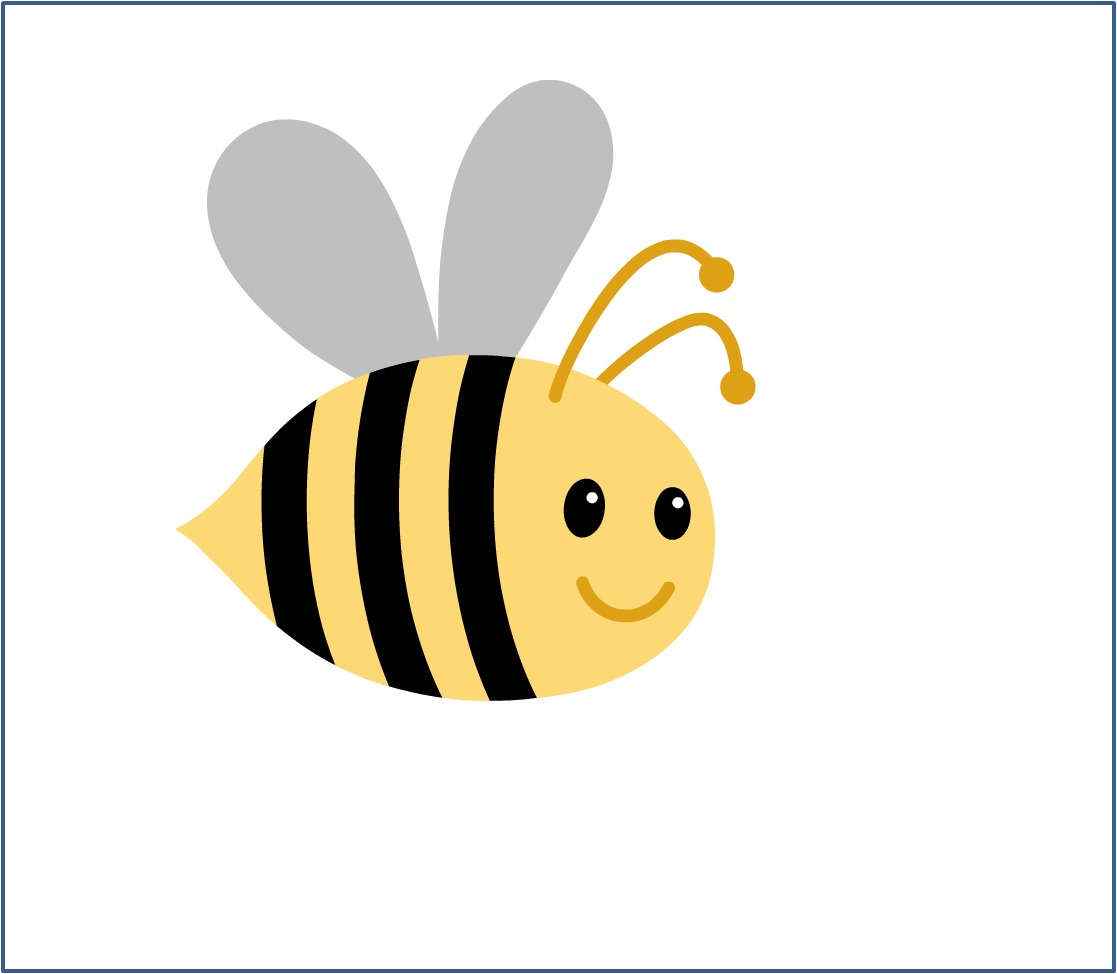 Bumblebee royalty free clipart