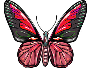 Animated butterfly clipart free vector library stock Free Animated Butterfly Clipart - Butterfly Gifs - Graphics vector library stock