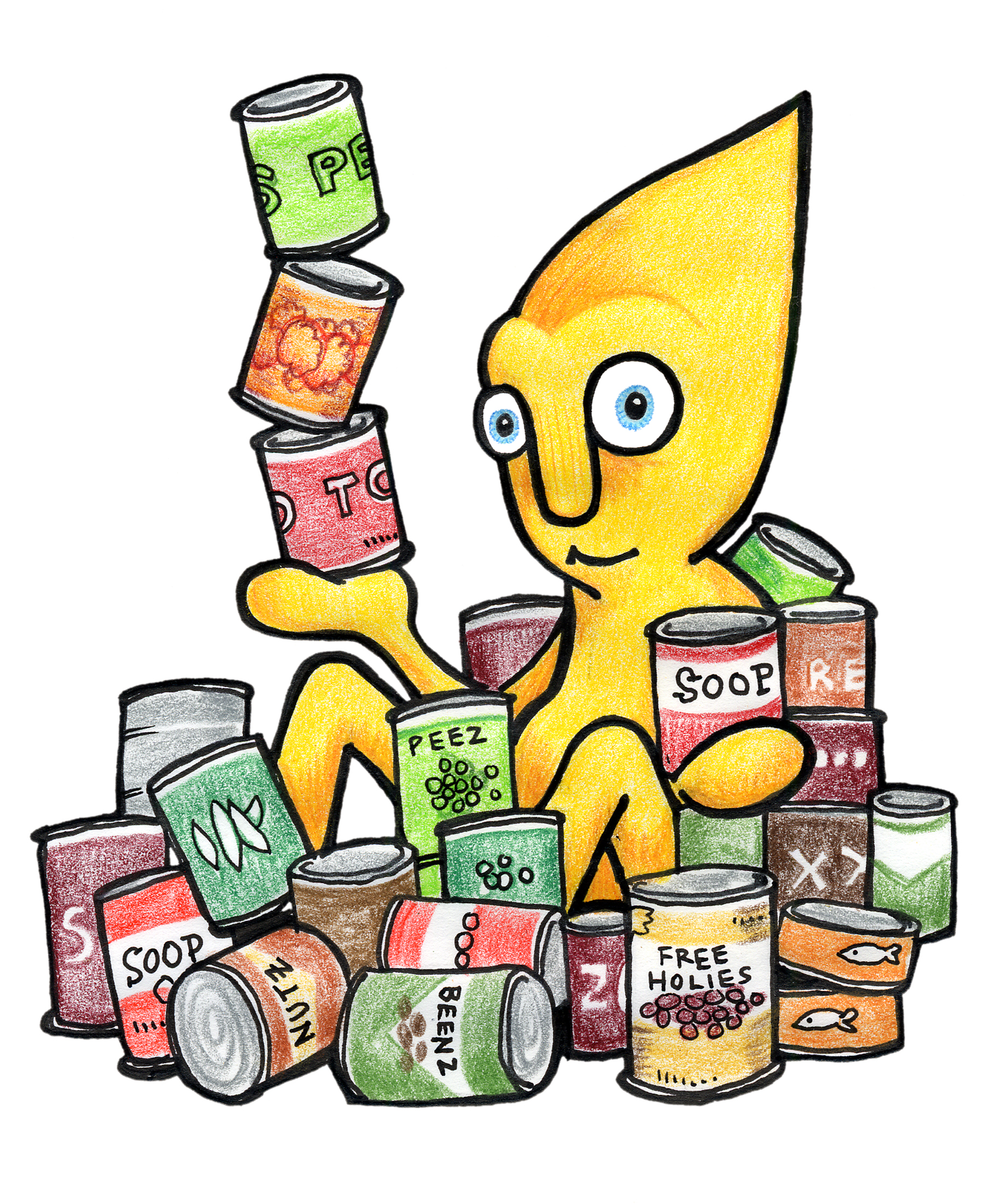 Animated canned food clipart picture freeuse download Canned food food drive clip art 2 - ClipartBarn picture freeuse download