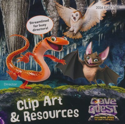 Animated cd turning clipart black and white Cave Quest Clip Art & Resources CD: 9781470733490: Amazon.com: Books black and white