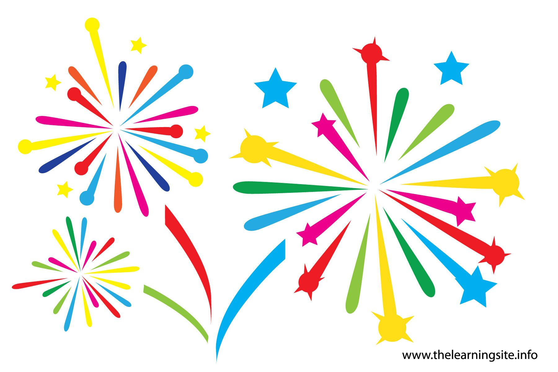 Animated celebration clipart graphic royalty free download Fireworks clip art fireworks animations clipart 2 image #4113 ... graphic royalty free download