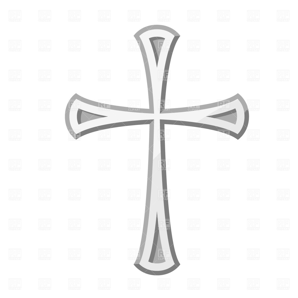 Animated christian cross glitter clipart transparent background