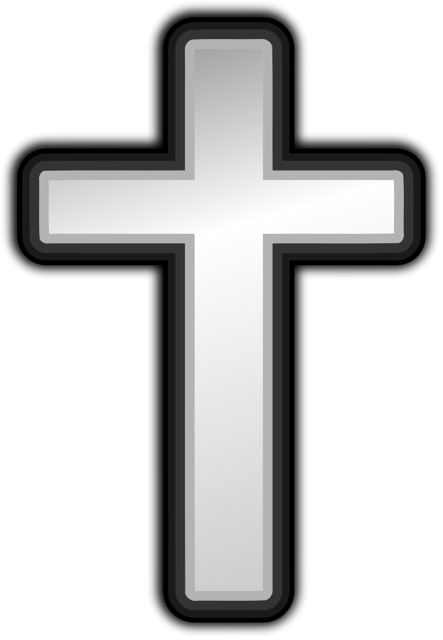 Superman symbol christian cross clipart