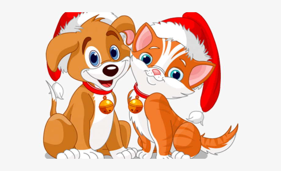 Dogs cats clipart free