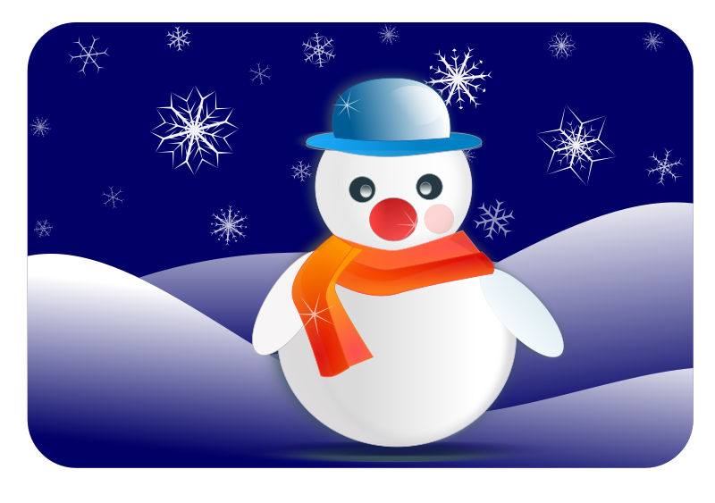Animated christmas clipart royalty free Snowman Clipart - Free Winter and Christmas Graphics royalty free
