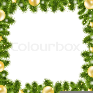 Animated christmas garland clipart