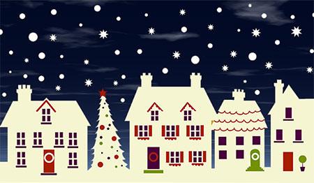 Animated christmas house clipart clip art royalty free download Christmas House Clipart - Animated Christmas Houses clip art royalty free download
