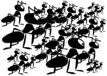 Animated clipart ants image black and white stock Free Ant Gifs - Animated Ants - Clipart image black and white stock